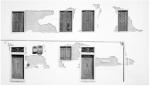 Fondamenta Deido, Venice, 2010 - Charcoal on paper 60 X 105 cm